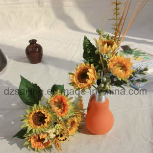 High Quality Sunflower Bouquets Artificial Flower Used for Decoration (SF13396) pictures & photos