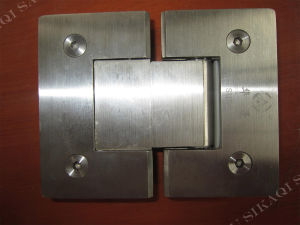 Glass Hinge with Brushed Nickel Finsh pictures & photos