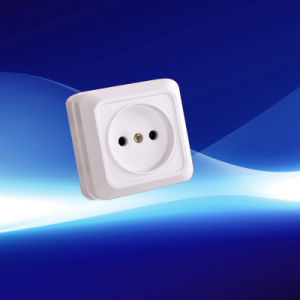 Hot Selling European Flat Wall Socket pictures & photos