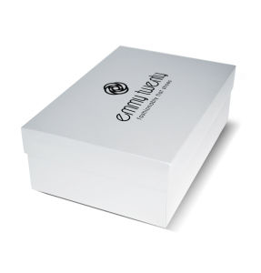 White Color Corrugated Folding Shoes Box with Custom Printing pictures & photos