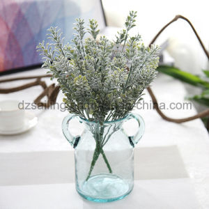 Plastic Leaves Components Artificial Flower for Decoration (SF16925A)