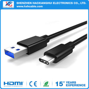 USB3.1 Type C to USB2.0 a Male Data Sync Charge Cable pictures & photos