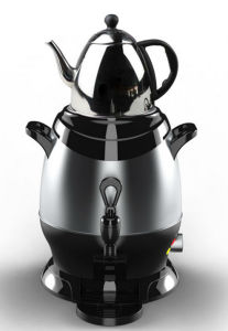 5L Stainless Steel Water Kettle Samovar with Teapot pictures & photos