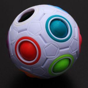 870233-5.5cm Diameter Magic Rainbow Ball Intelligent Toy Fun Gift pictures & photos