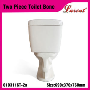 Ceramic Conceal Tank Siphonic Flush Floor Mounted Water Closet Two Piece Toilet pictures & photos