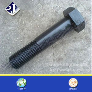 Black Phosphated Coating Hex Bolt pictures & photos
