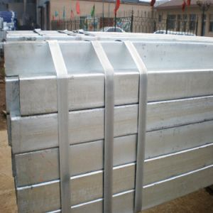Hollow Steel Profile (section shape: square, rectangular) pictures & photos