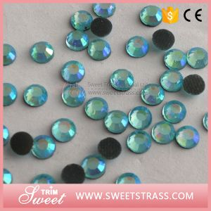 Ss16 Aquamarine Chain a Quality Stone of Hotfix for Promotion Sale pictures & photos