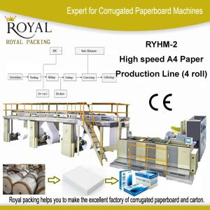 High Speed A4 Paper Making Machine Production Line pictures & photos