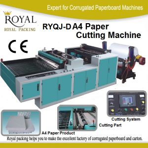 A4 Paper Cutting Machine Roll to Sheet pictures & photos