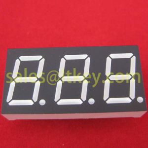 0.8 Inch 3 Digit 7 Segment LED Display pictures & photos