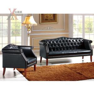 European Style Leather Sofa Set (SF2308)