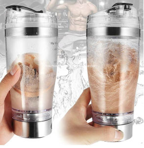 500ml Protein Electric Shaker, Stainless Steel Protein Shaker Bottle pictures & photos