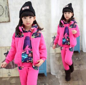 Wholesale School Children Fall Clothing Sport Sets pictures & photos