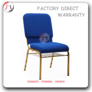 Sky-Blue Linen Anti-Dirty Fabric Temple Meeting Furniture (JC-69) pictures & photos