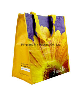 Competitive Price Laminated PP Woven Tote Bag pictures & photos