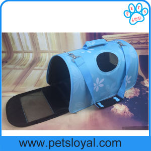 Manufacturer 3 Sizes PU & Oxford Pet Bag Dog Cat Carrier pictures & photos