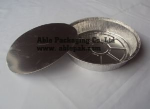 Disposable Aluminum Food Container Round