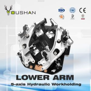 Automobile Lower Arm 5-Axis Workholding with Yasda Machine
