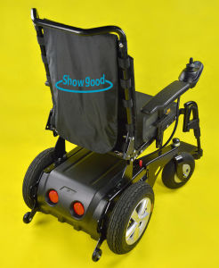Showgood Folding Airplane Power Motorized Wheelchair
