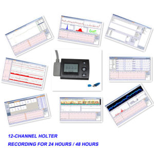 CE Approved 12-Channel Mini Holter System (ECGLAB CV-4L) -Fanny pictures & photos