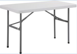 4FT 122cm Plastic Small Banquet Dining Table pictures & photos