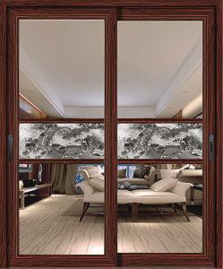 Grill Design Aluminium Alloy Profile 6063-T5 Sliding Door pictures & photos