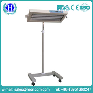 Medical Mobile Overhead LED Infant Phototherapy Unit (H-100 LED) pictures & photos