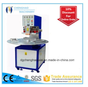 Three Position Disc Plastic Suction Packaging Machine, Ce Certification Blister Packing Machine