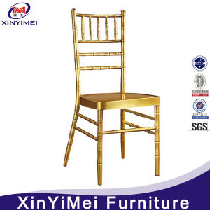 Wholesale Ballroom Gold Metal Silla Chiavari Chair Banquet for Wedding for Sale pictures & photos