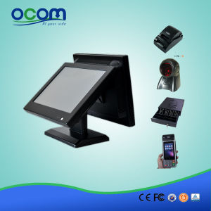 """15"""" Touch All in One POS with 15"""" Dual Screen pictures & photos"""
