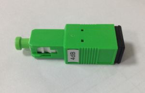 Sc/APC Plug-in Type Fiber Optic Attenuator with Plastic Housing pictures & photos