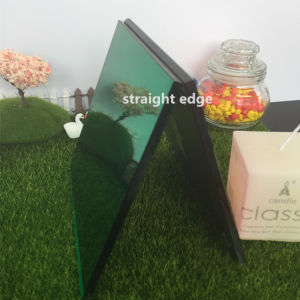 4mm Medium Square Rose Glass Candle Holder pictures & photos