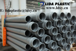 110mm*4.2mm UPVC for Water Supply Blue PVC Pipe pictures & photos