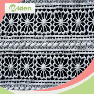 Mesh Wholesale Customized Cotton Chemical Lace Fabric of 120cm pictures & photos