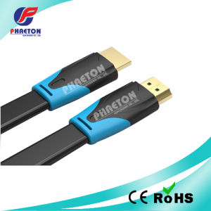 1080P Two Color HDMI Cable with Goldend Plug (pH6-1216) pictures & photos