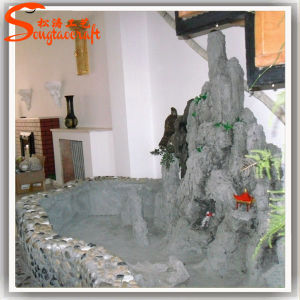 Customized Indoor Artificial Ornamental Rock Water Fountain pictures & photos