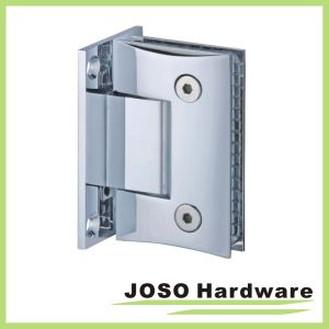 Glass to Wall 90 Degree Curved Shower Door Hinge (Bh4001) pictures & photos
