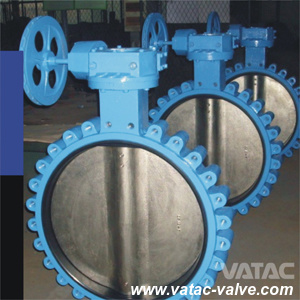 Full Lug Wafer Gear Box High Performance Butterfly Valve pictures & photos