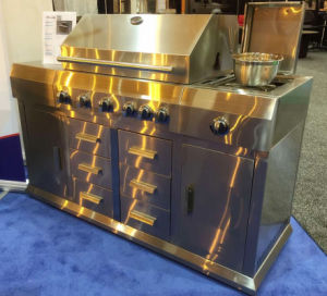 Top Quality Outdoor Stainless Steel Gas BBQ Kitchen pictures & photos