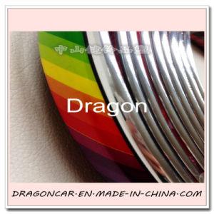 Car Wheel Eyebrow Protector Car Chrome Trim pictures & photos