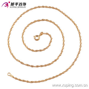 42750 Hot Sale Fashion Nice Feeling 18k Gold-Plated Jewelry Necklace pictures & photos
