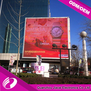Outdoor P6 Full Color Display Screen with Die-Casting Aluminum Cabinet pictures & photos