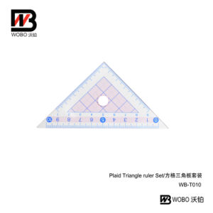 Office Stationery Measuring Triangular Plastic Ruler for School pictures & photos