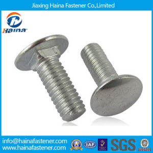 Stainless Steel 317 321 Square Short Neck Carriage Bolt pictures & photos