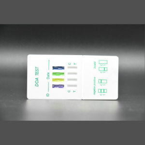 Drug Panel Test Kit/Mor, Coc, Met, AMP, Durgs Test Device Made in China pictures & photos