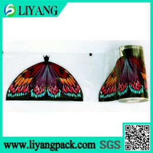 Beautifully Colored Butterfly, Heat Transfer Film for Broom Head pictures & photos