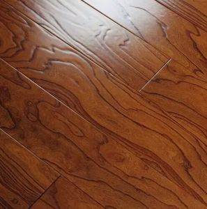 8201# Elm Handscraped Engineered Wood Flooring 15mm