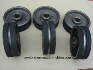 Sand Casting Pulley Wheel with Machining in CNC pictures & photos