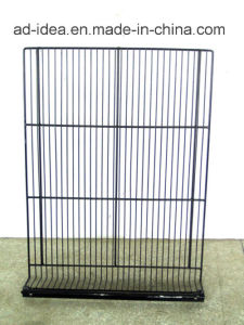 Multilayer Floor Display Wire Rack pictures & photos